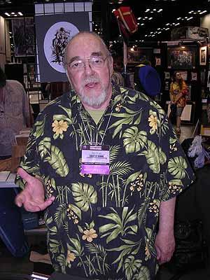 Gary gygax auf der Gen Con 2007