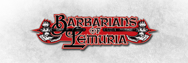 logo barbarians of lemuria deutsch