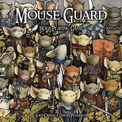 Das Cover des mouseguard Rollenspiel